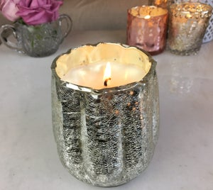 Image of Large Mercury Glass Candle