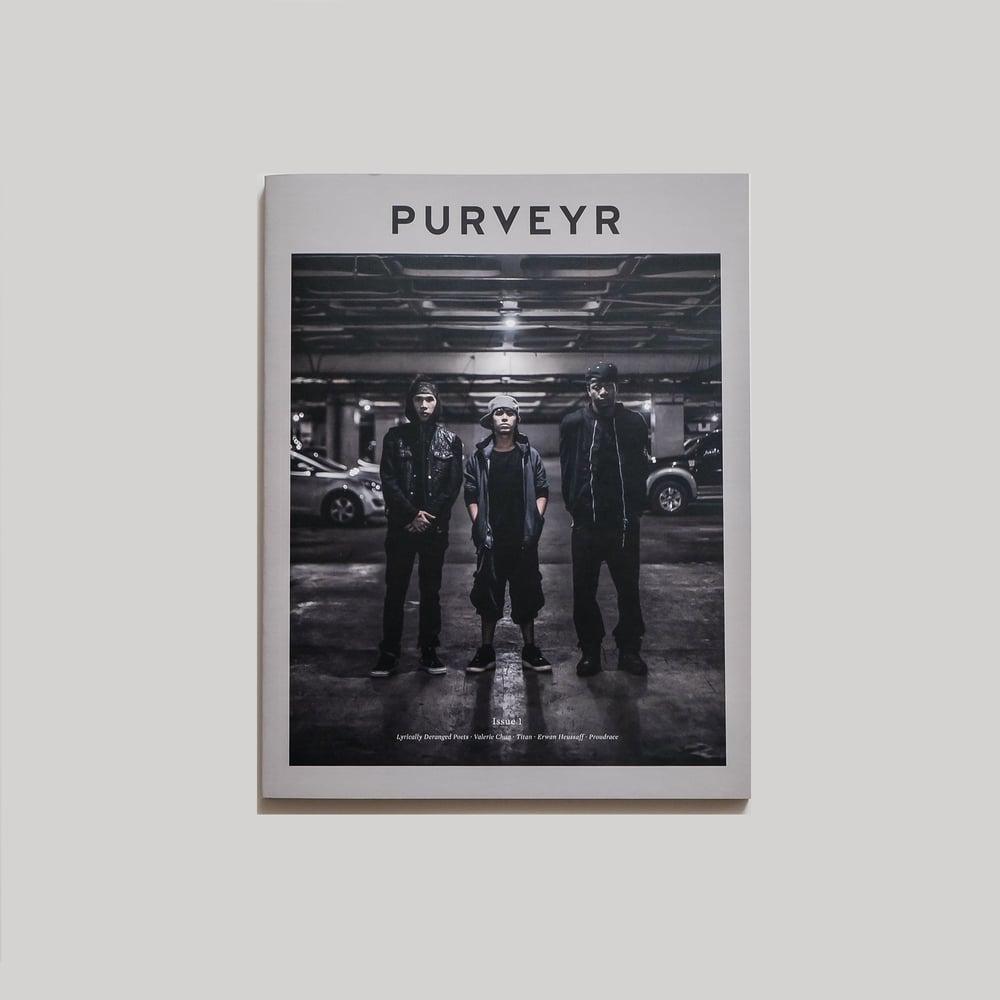 Image of PURVEYR Magazine Issue 1: Beginning