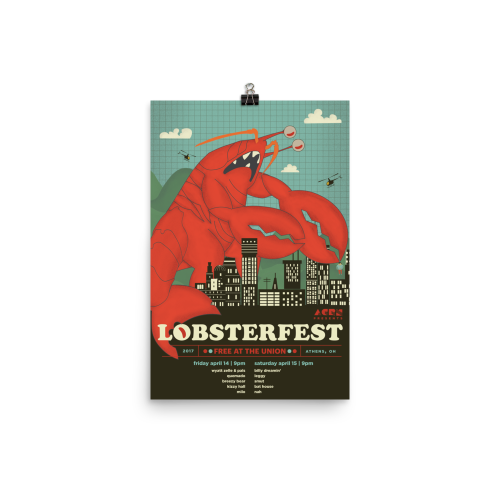 Image of Lobsterfest 2017 Poster