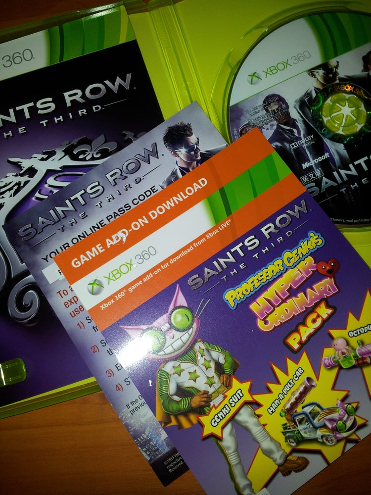 Image of Download Content Saints Row Third