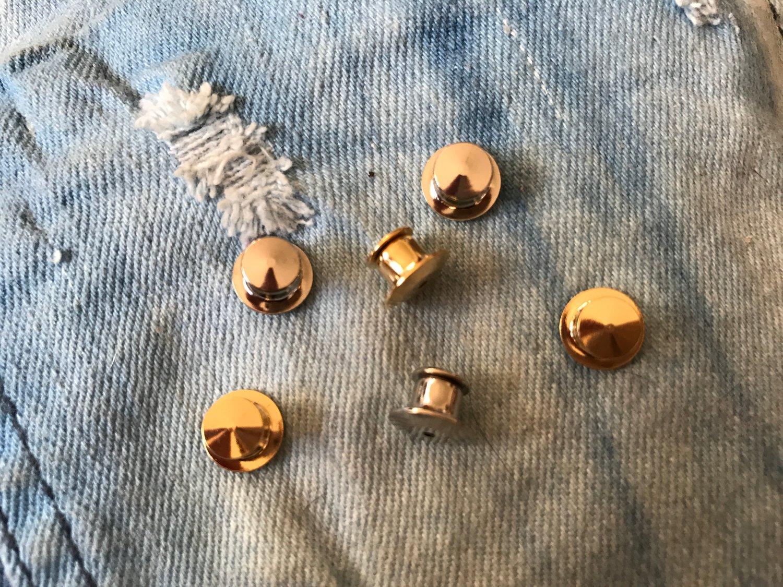 Image of Locking Pin Backs