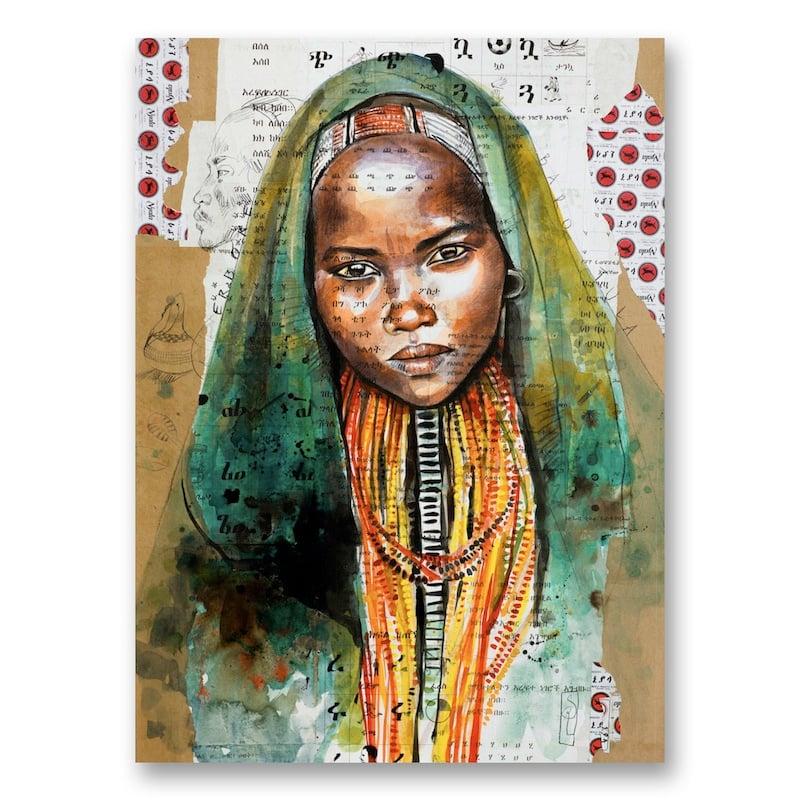 "Image of Canva Art Print - ""Baro Tula"""