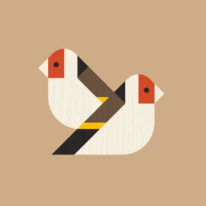 Image of Goldfinch Artprint (European Finches Series)