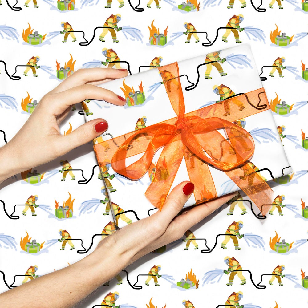 Image of Hot gift - gift wrap