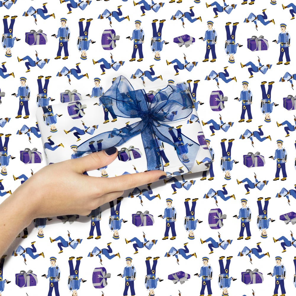 Image of Naughty gift - gift wrap