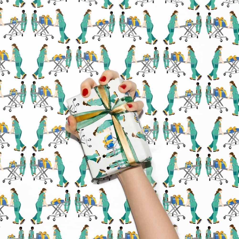 Image of Sick gift - Gift wrap