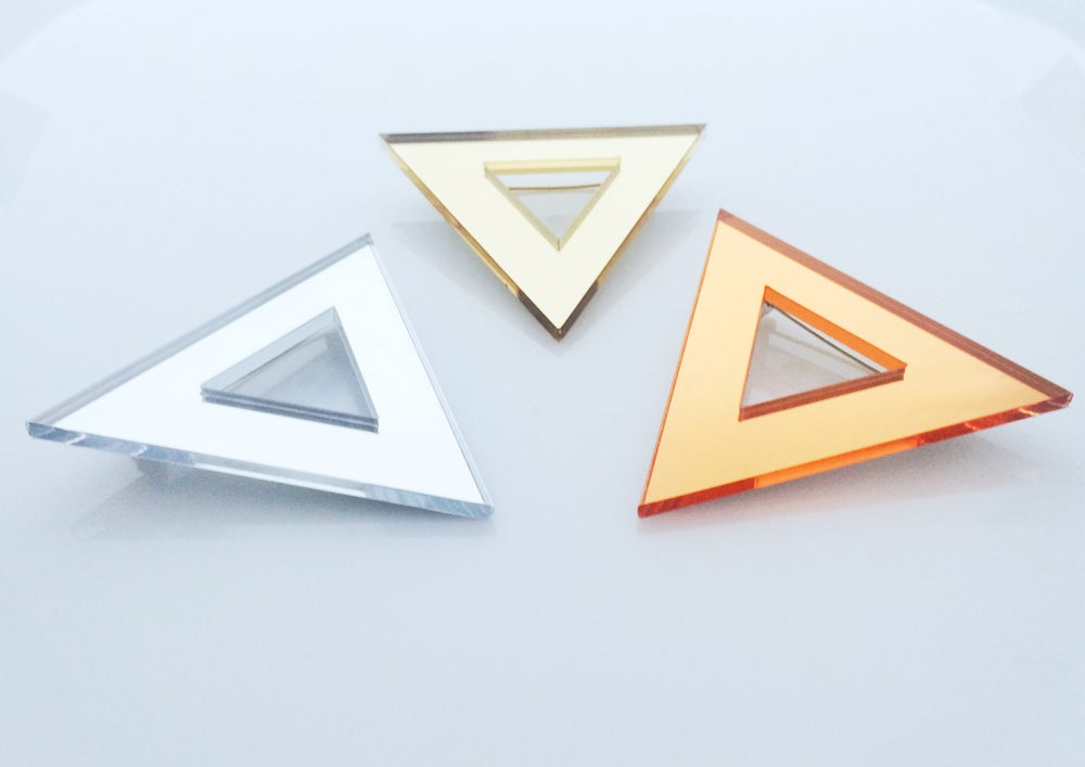 Image of Broz Triangle mirror