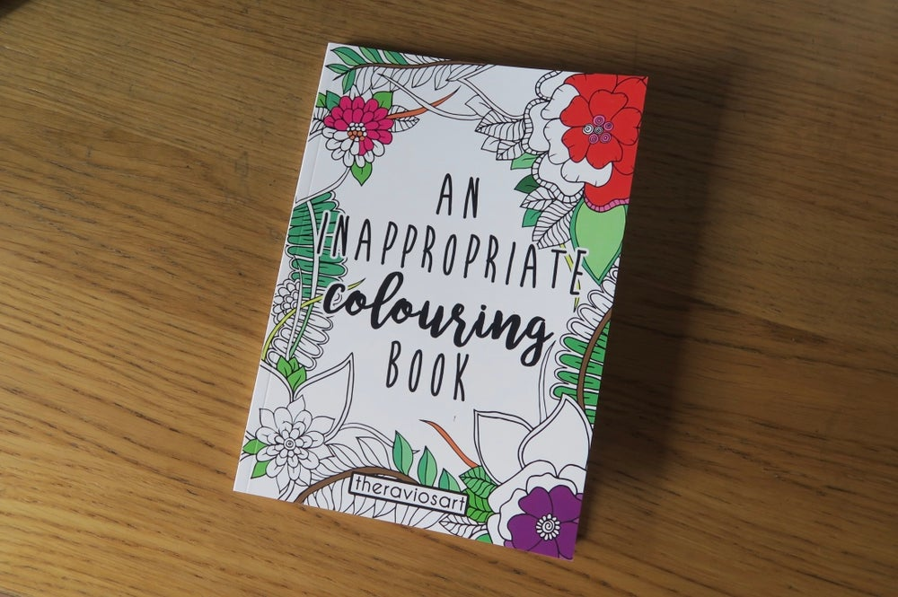 Image of An Inappropriate Colouring Book