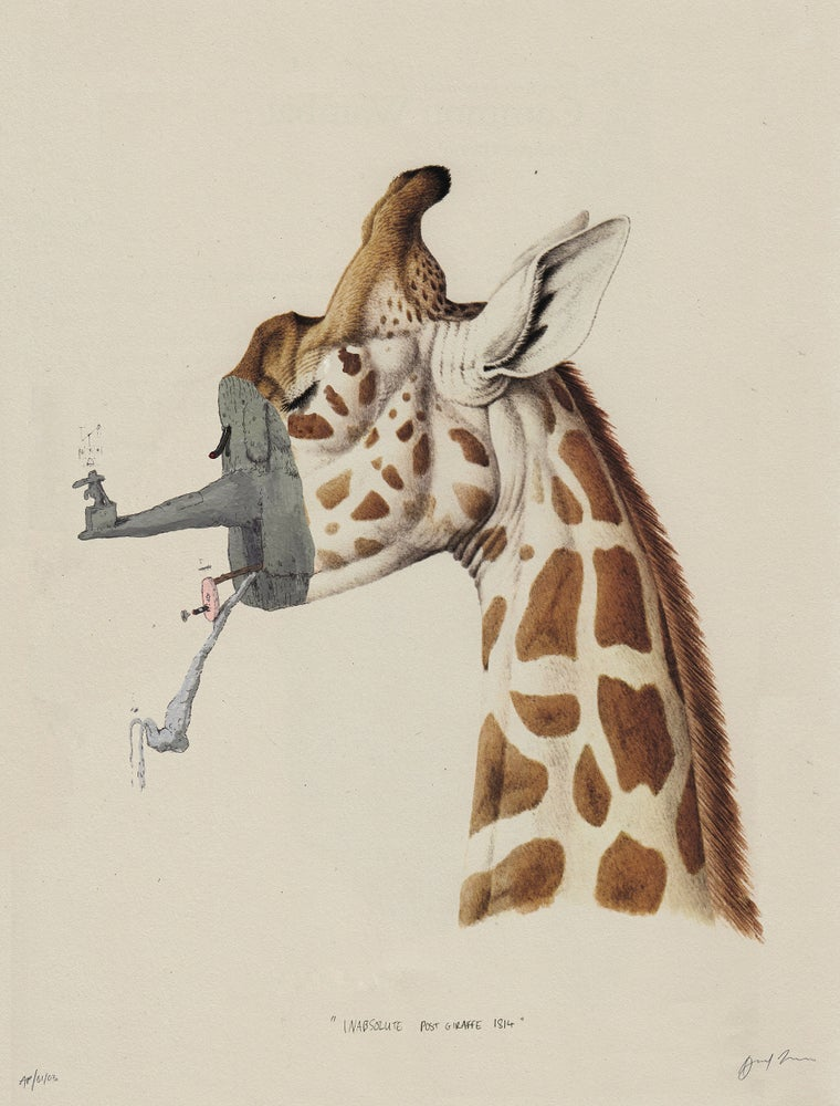 Image of Inabsolute Post Giraffed 1814