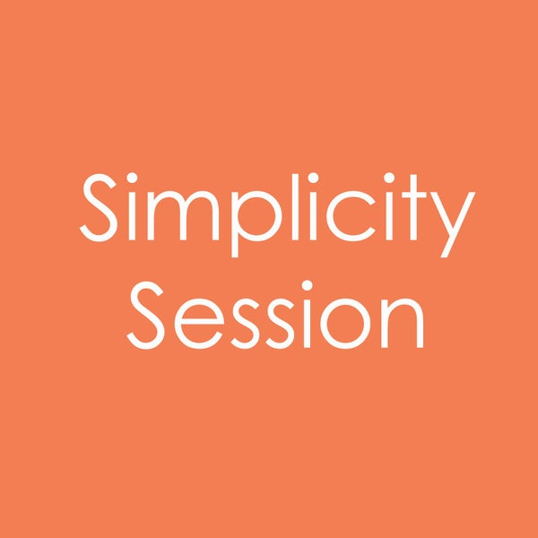 Image of Simplicity Session