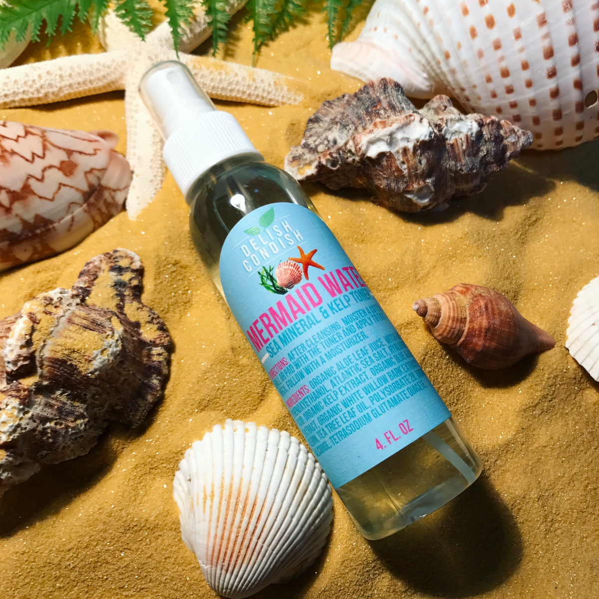 Image of Mermaid Water Sea Mineral Toner