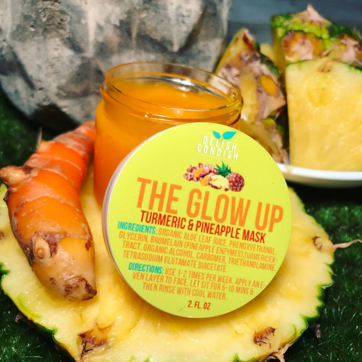 Image of The Glow Up Turmeric & Pineapple Mask