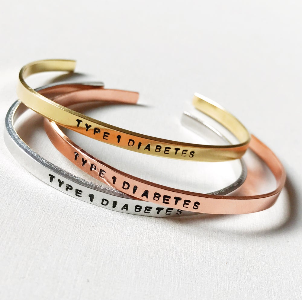 Image of Diabetes Bracelet Aluminium