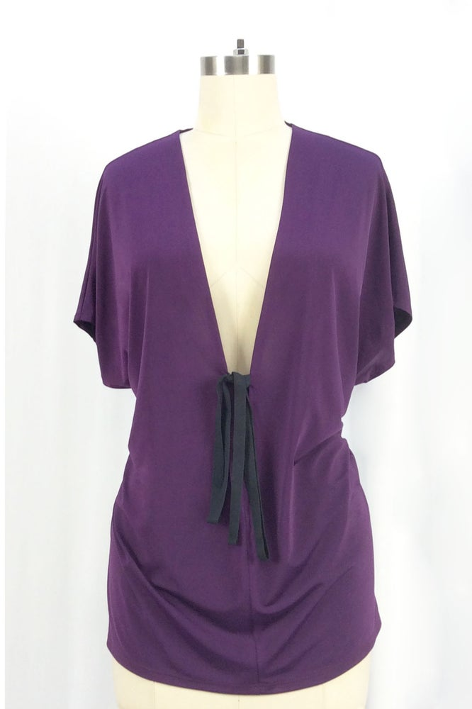 Image of Cleopatra Top (Eggplant)