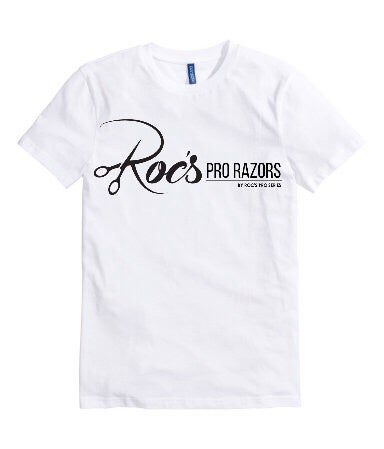 Image of Roc's pro series T-shirt (White & Black)