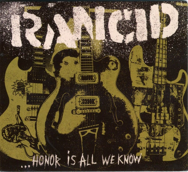 Image of Rancid - Honor Is All We Know LP (army green vinyl)