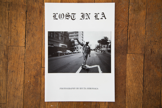 Image of 'Lost In LA' Zine by Ryuta Hironaga
