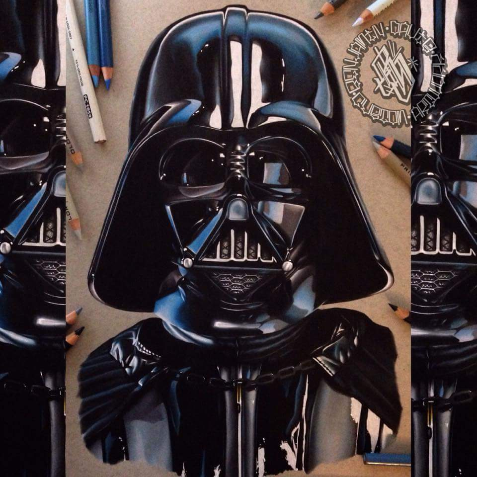 Image of Limited edition darth vader print