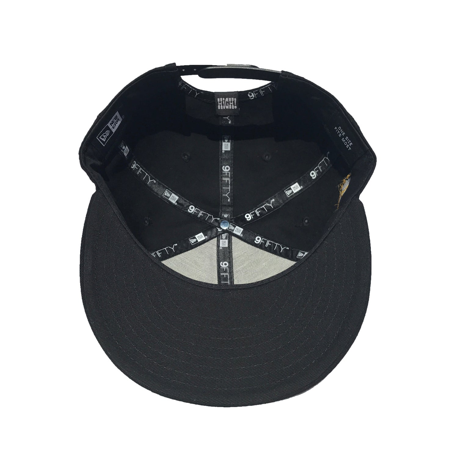 Image of 1st Rounders Snapback - BLK/GLD