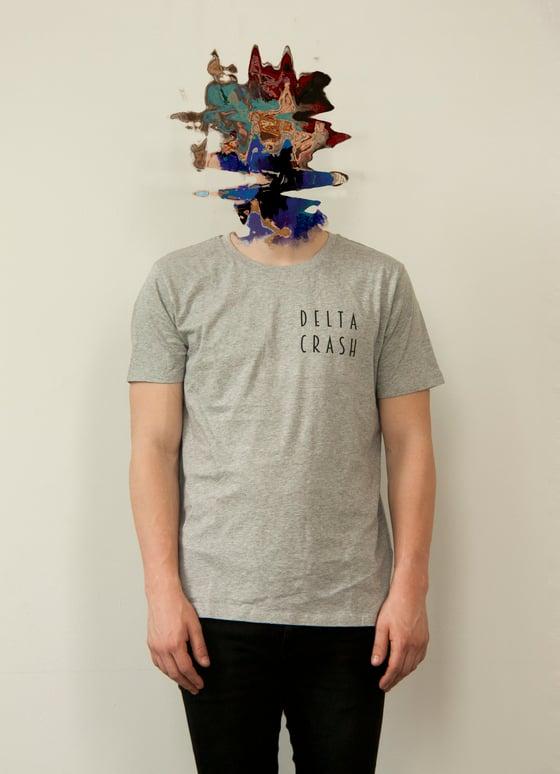 Image of Grey Logo T-shirt Male