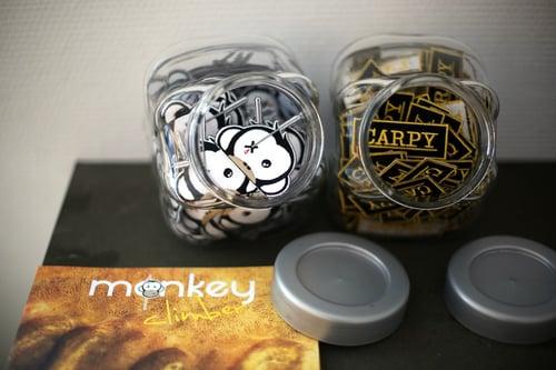 Image of Monkey Climber MC logo patch I Easy iron on