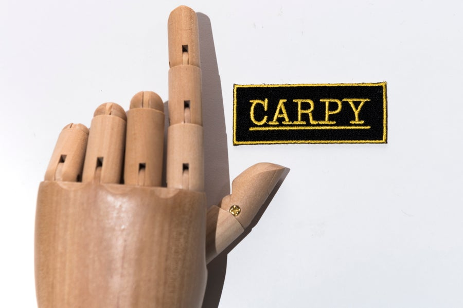 Image of Monkey Climber Carpy patch I Easy iron on