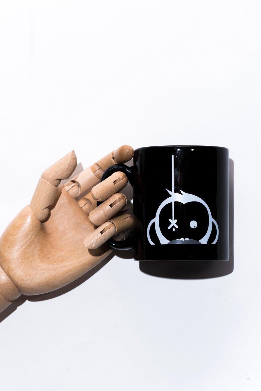 Image of Monkey Climber Camus mug I Black