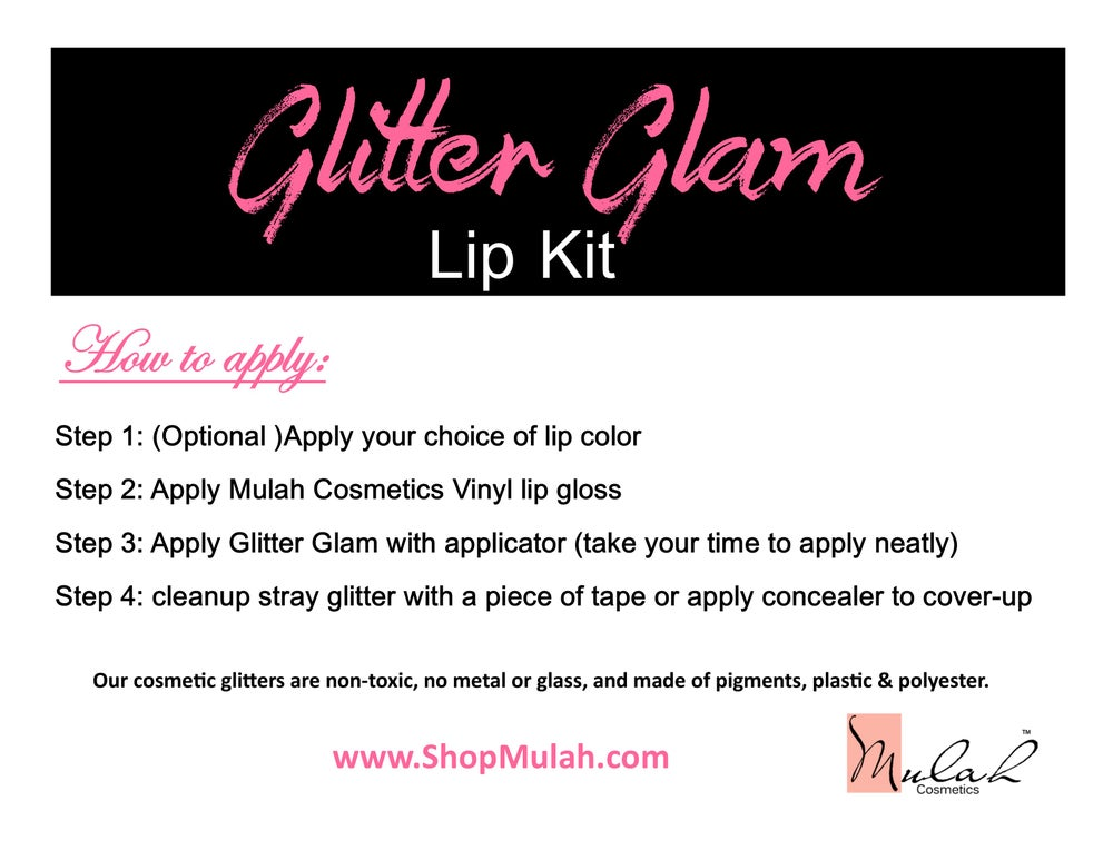 Image of Glitter Glam Lip Kit