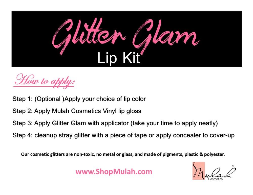 Glitter Glam Lip Kit