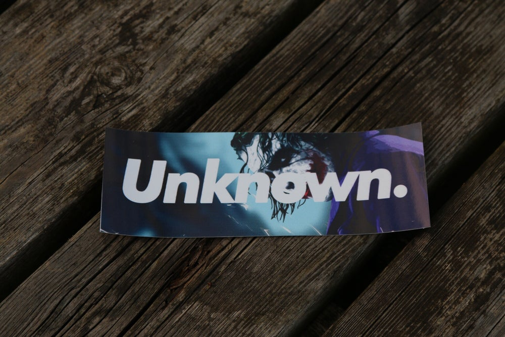 Image of Unknown - 'Joker' Box Slap Sticker (Limited)