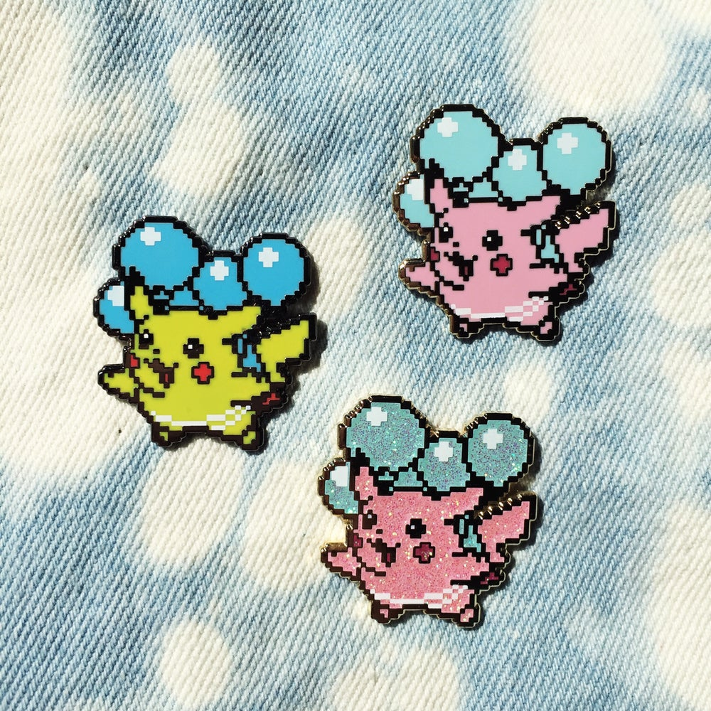 Image of 8bit Flying Pika