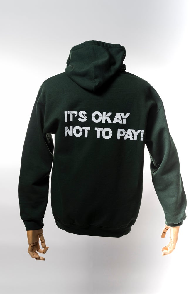 Image of Monkey Climber Pro Public hoodie I Moss Green