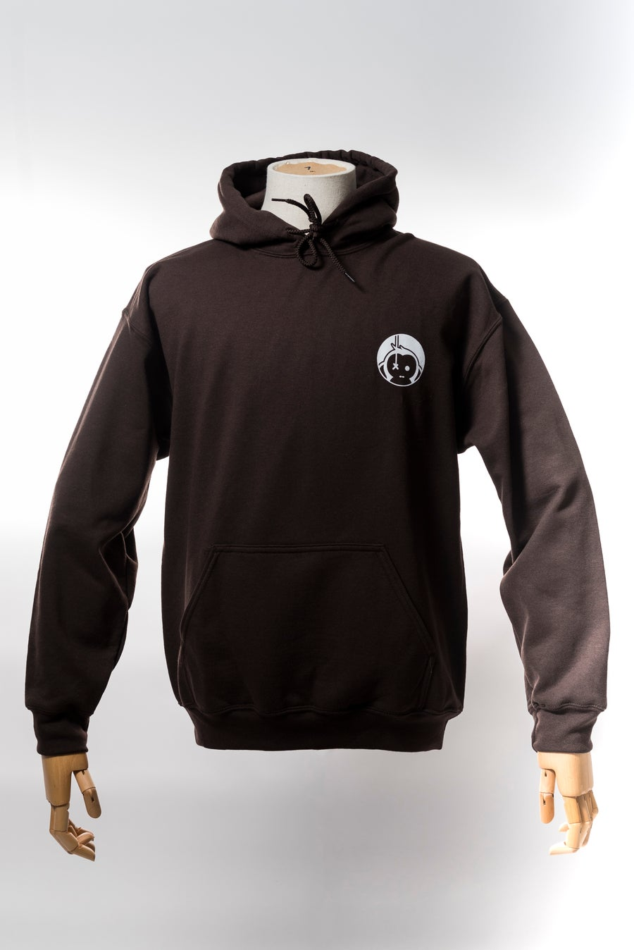 Image of Monkey Climber Pro Public Hoodie I Chocolate