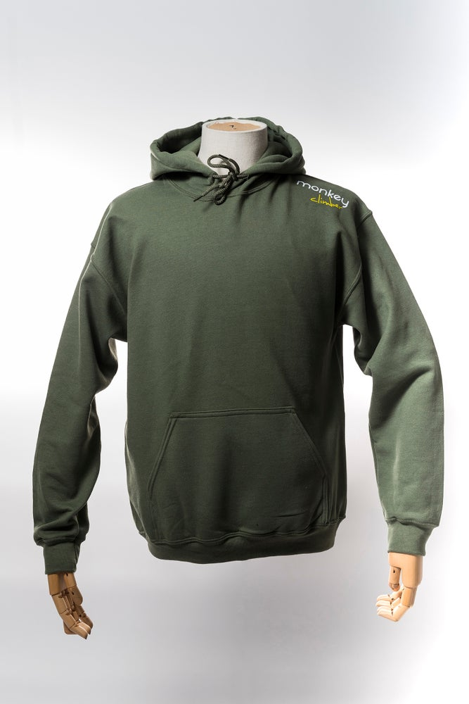 Image of Monkey Climber Streetwise hoodie I Olive