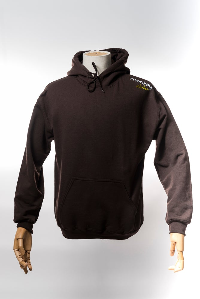 Image of Monkey Climber Streetwise hoodie I Brown