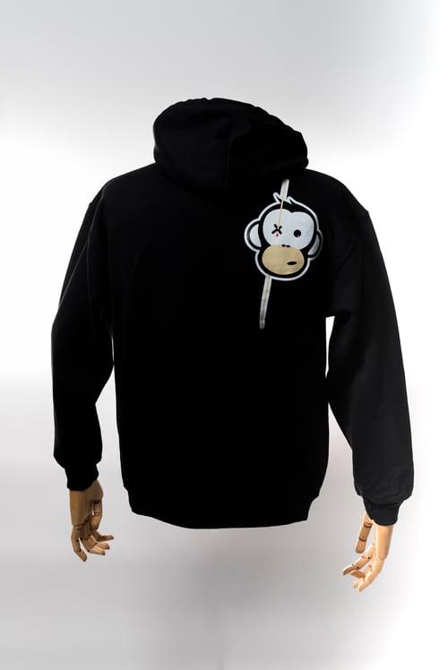 Image of Monkey Climber Streetwise hoodie I Black