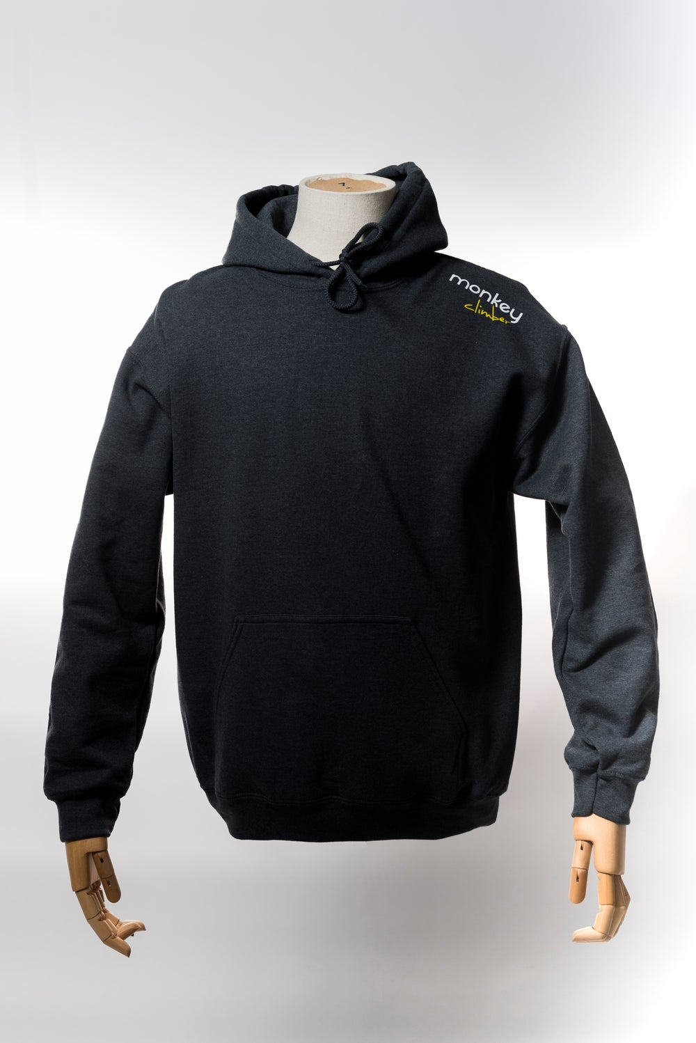 Image of Monkey Climber Streetwise hoodie I Dark Heather Grey