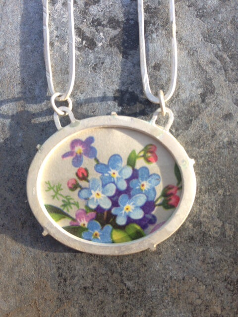 Image of Forget Me Not Necklace