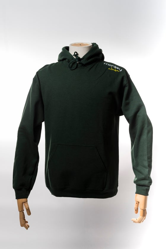 Image of Monkey Climber Streetwise hoodie I Forrest Green