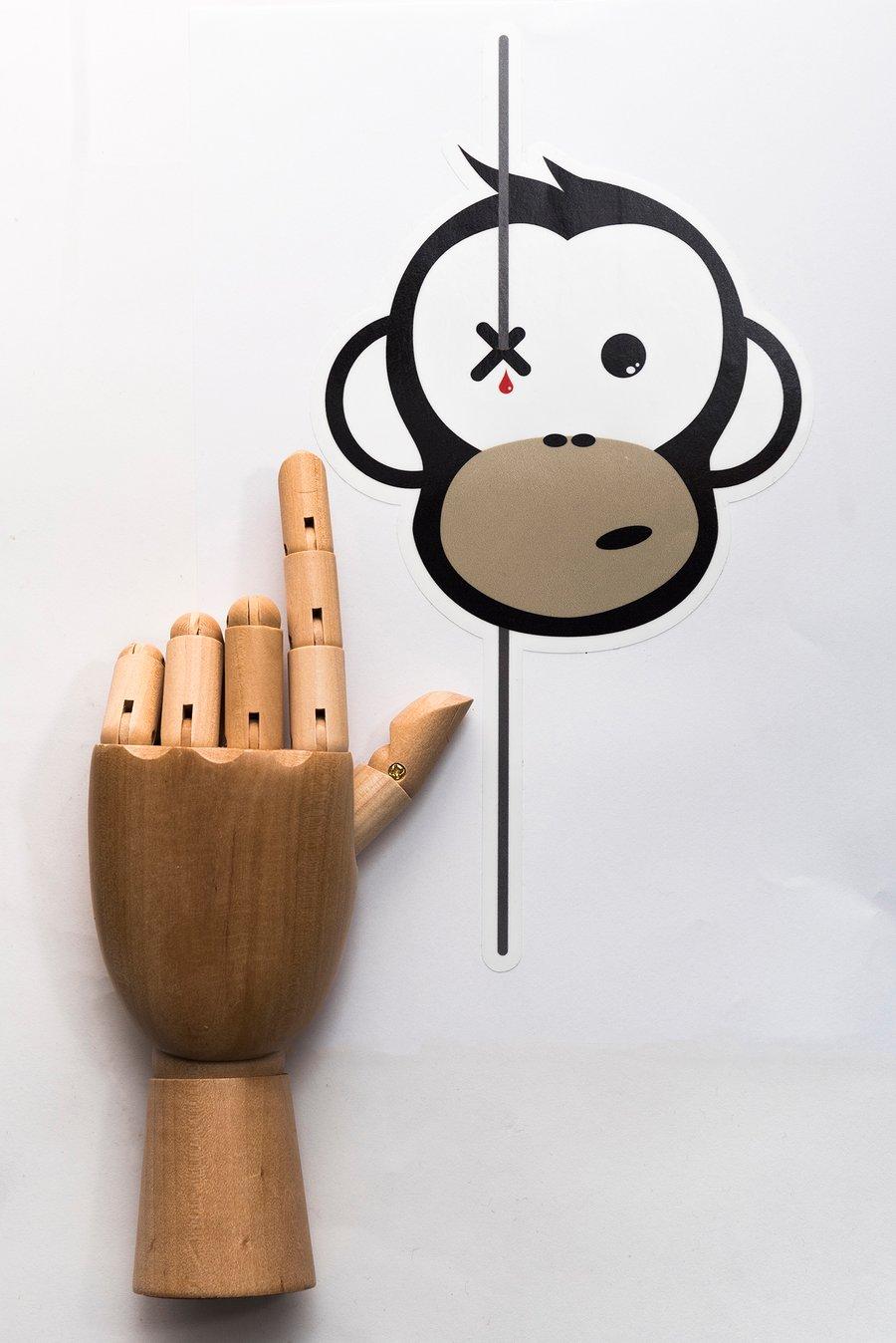Image of Monkey Climber Logo car sticker I Small - Medium - Large