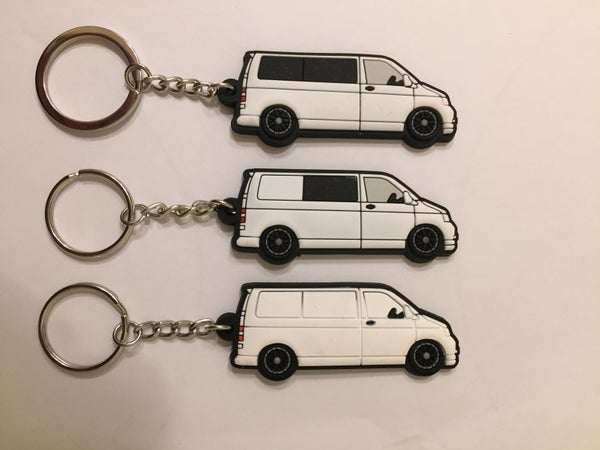 Image of White T5 Keyring