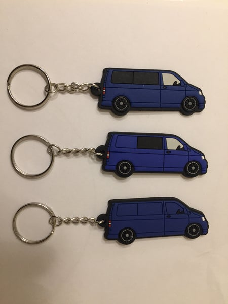 Image of Blue T5 keyring