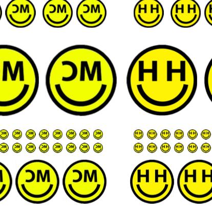 Image of MC & HH Temporary Tattoos x 58