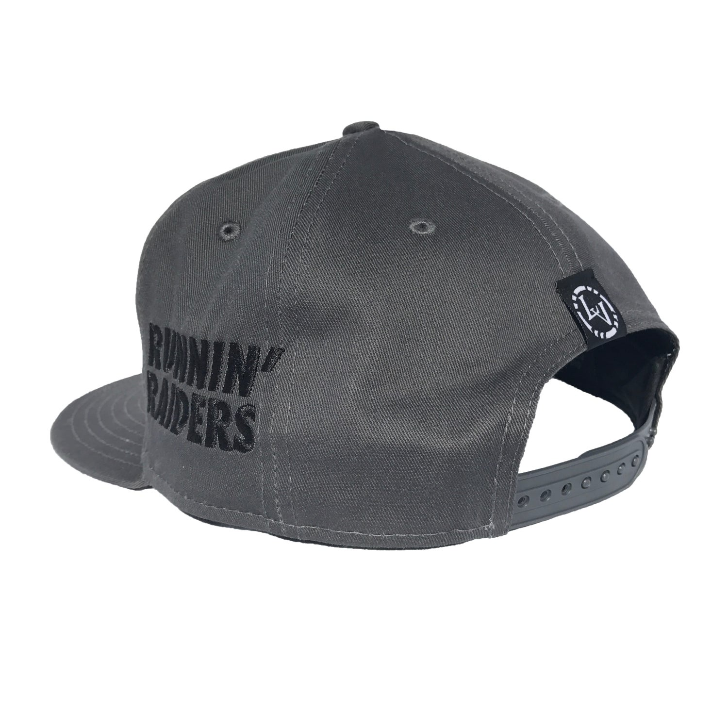 Image of Runnin' Raiders 1st Rounders Snapback - GRY/BLK