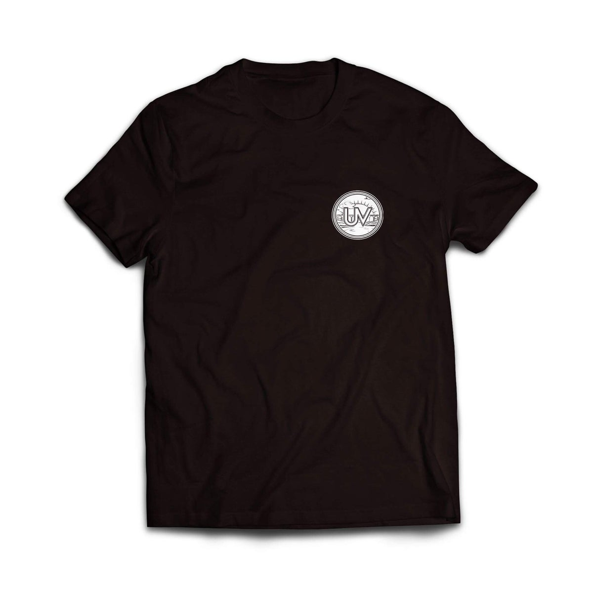 Image of Black UV Patch T-Shirt