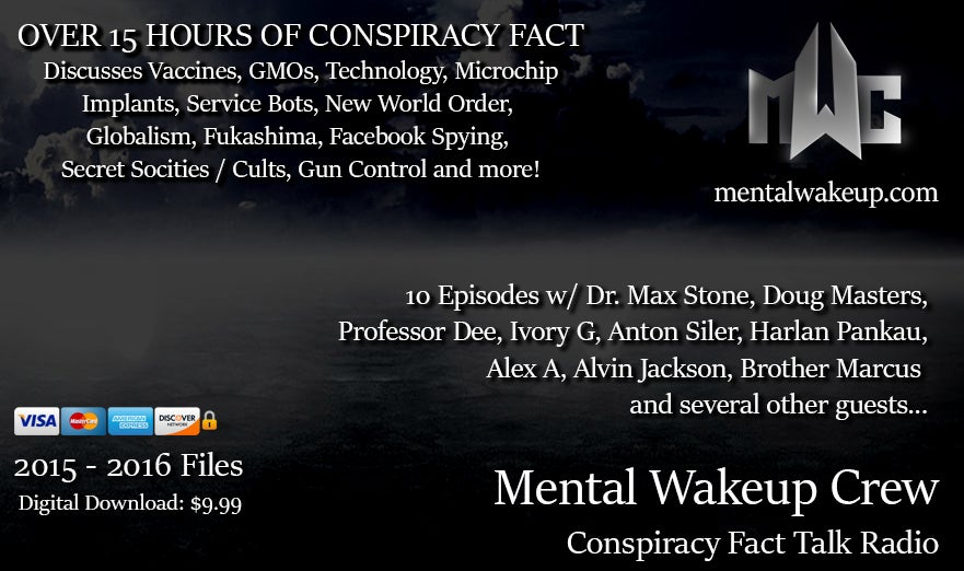 Image of 15 Hours of Conspiracy Fact Talk Show by MWC