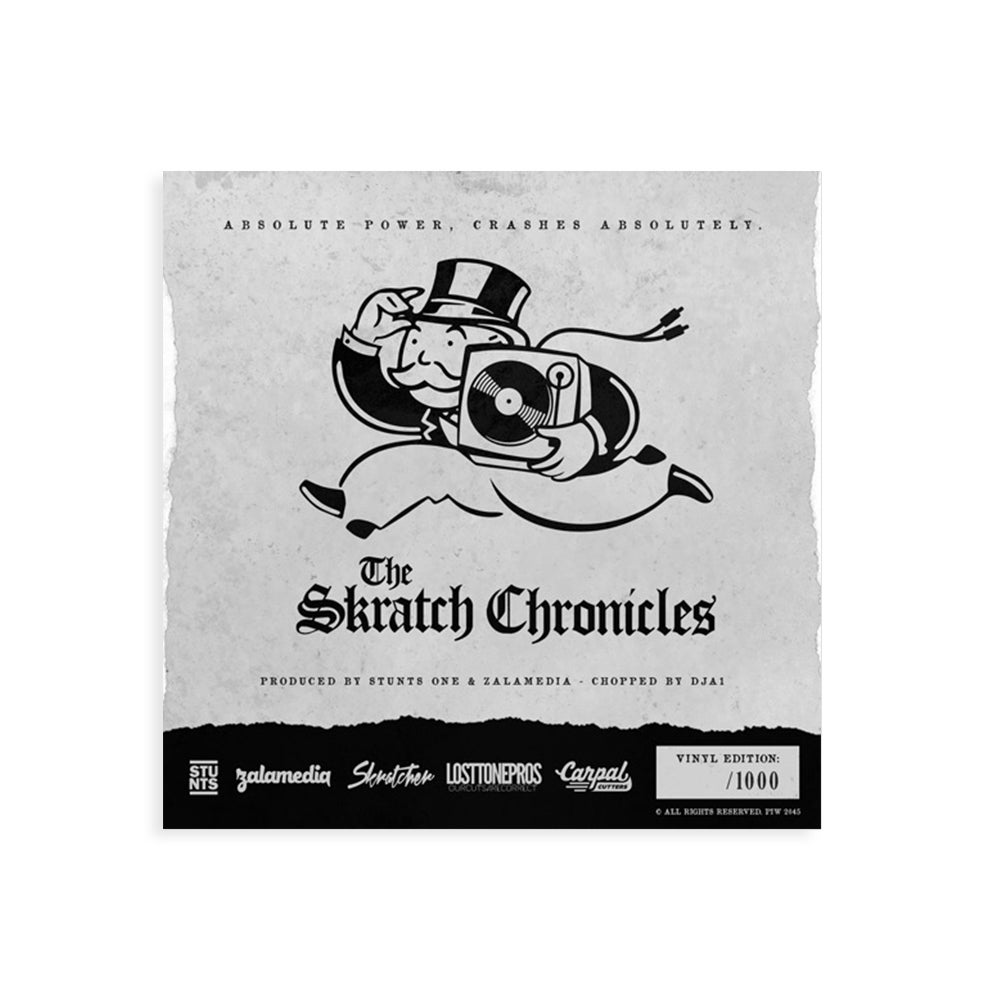 "Image of BLACK TUESDAY SKRATCH CHRONICLES 7"" VOL. 1"