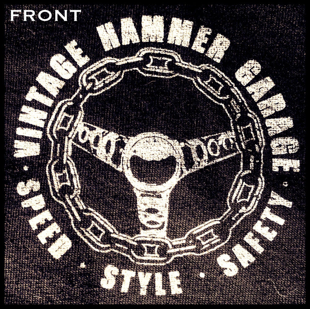 Image of Vintage Hammer Garage Racing Chain Wheel Shirt
