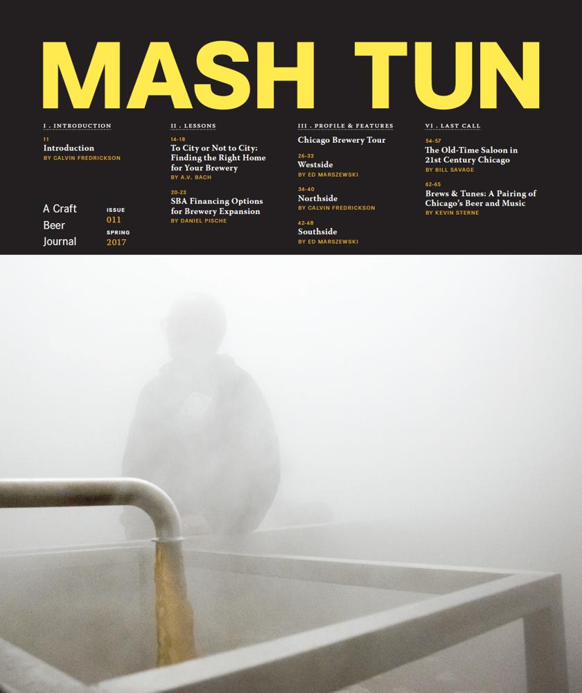 Image of Mash Tun Journal #11