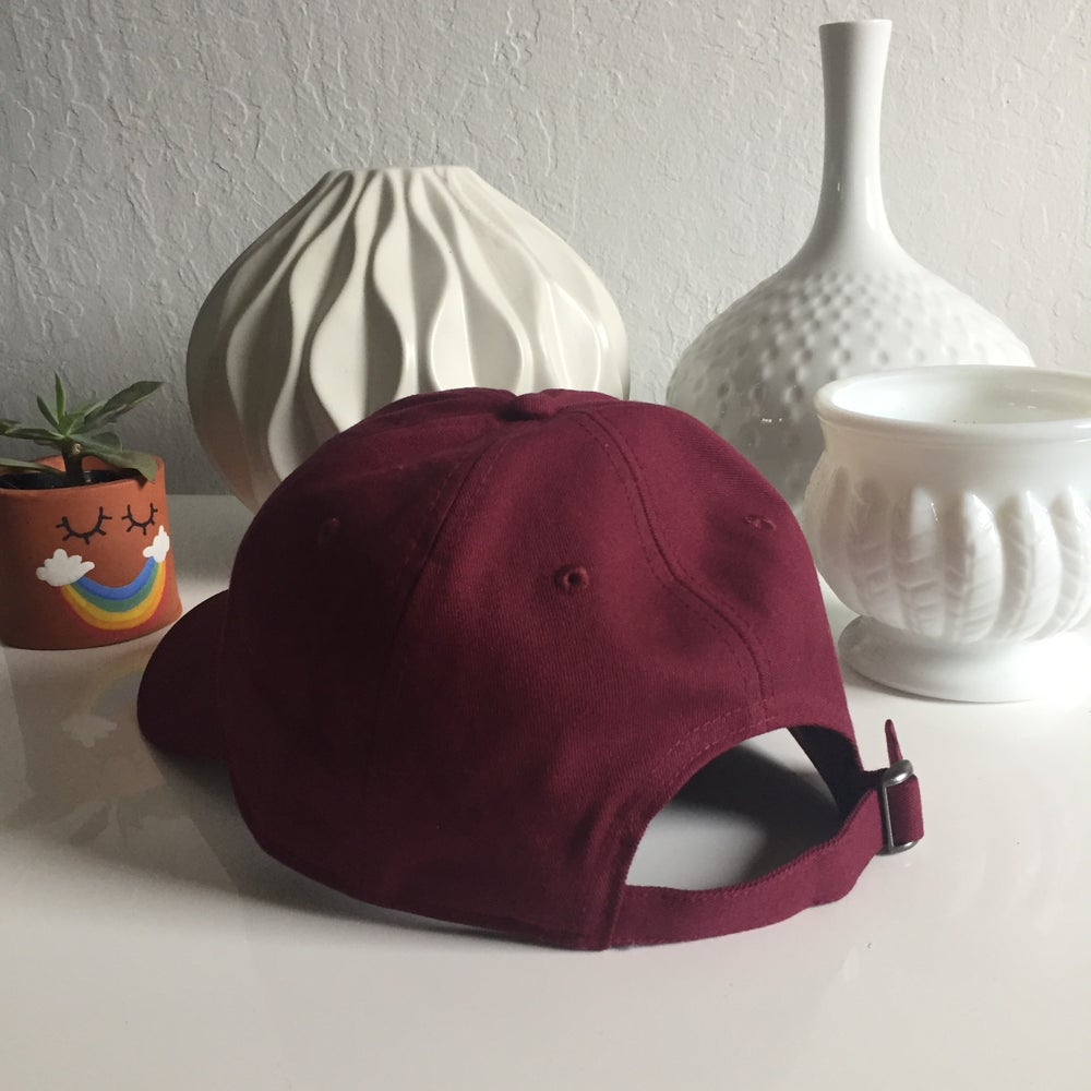 Image of From Here to Eternity - Maroon - Dad Hat
